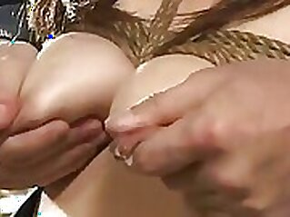Chelsea Cole raises her tits to reveal mature breasts